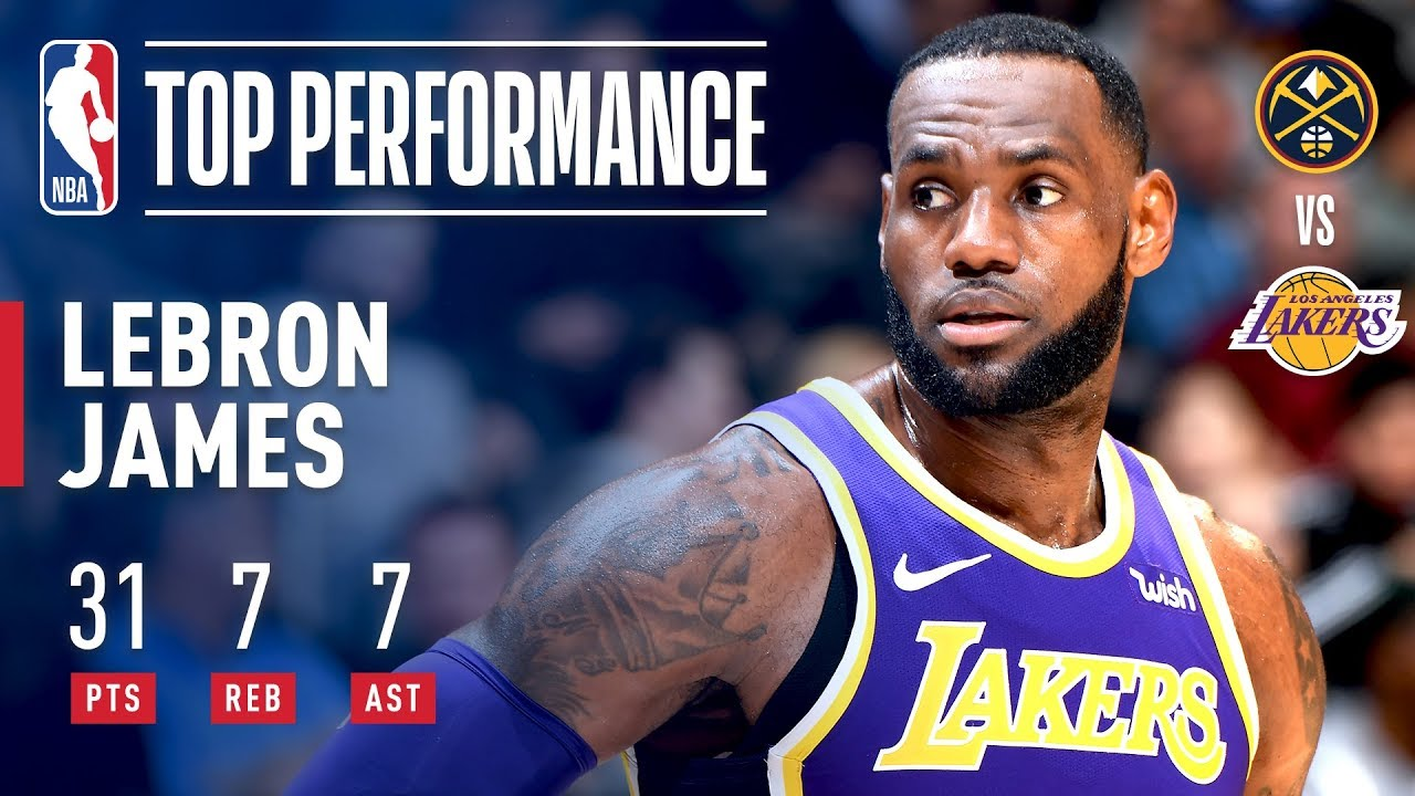 Lebron James Drops 31 As He Moves Into 4th On All Time