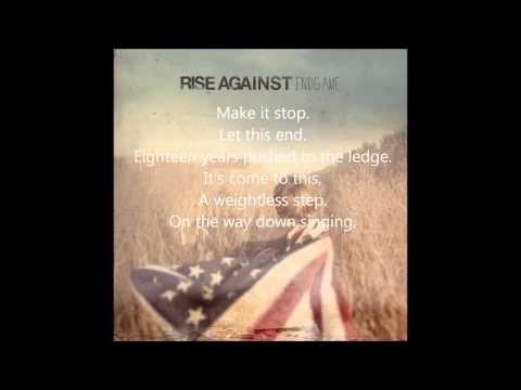 Rise Against - EndGame - Make It Stop (September's Children) lyrics