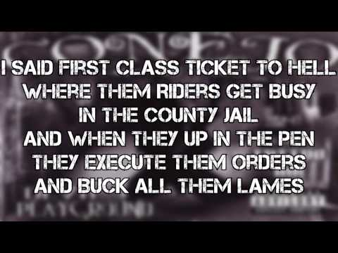 Conejo-First Class Ticket To Hell(LYRICS ON SCREEN)