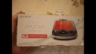 Распаковка и обзор PSP-3008!
