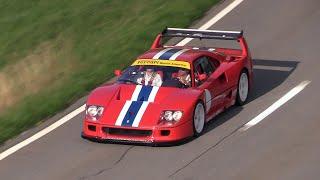 Street Legal Ferrari F40 LM - Exhaust SOUNDS On the Public ROADS!