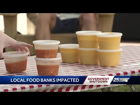 Palm Beach County Food Bank Speaks About the Shutdown