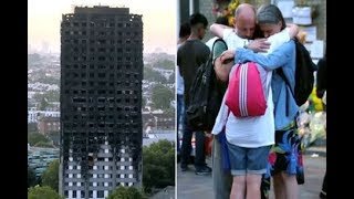 The emotional video for Simon Cowell's star studded Grenfell Tower charity single, Bridge Over Troub