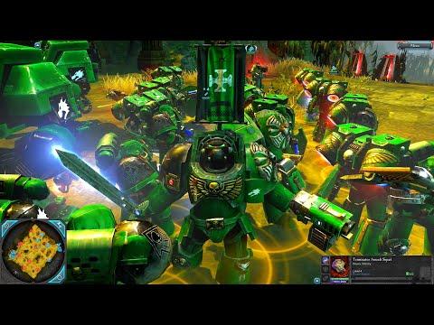 Holy War! Salamanders vs Death Guard! - Epic Battle, Warhammer 40k: Dawn Of War 2: Retribution |