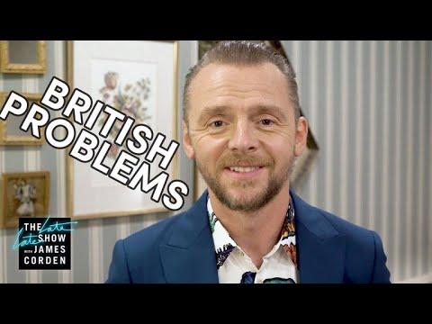 Simon Pegg Solves r/BritishProblems