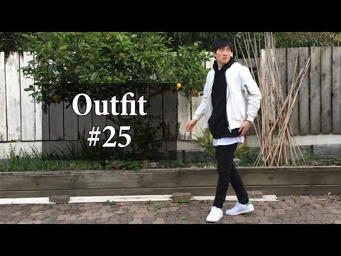 "OOTD #25 | ""Layering with Bomber Jacket"" w/ Represent Oblivion Bomber & Stan Smith"