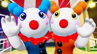 Clowny Has A Twin?! A Roblox Piggy Movie (Story)