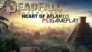 Deadfall Adventures: Heart of Atlantis Gameplay (PS3 HD)