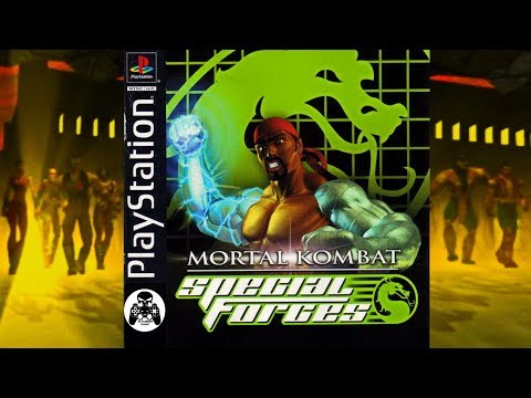 Mortal Kombat: Special Forces, Sony Playstation прохождение [60fps]