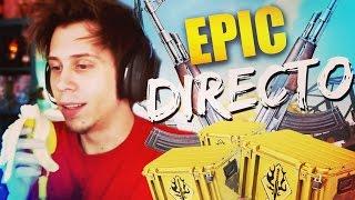 JUEGOS DEL HAMBRE, MI PLATANO Y CAJITAS EN DIRECTO | Epic Directo