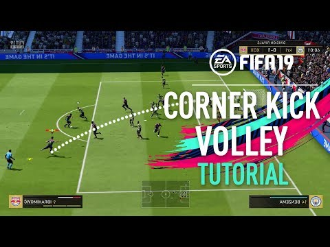 FIFA 19 | CORNER KICK VOLLEY TUTORIAL [PS4/XBOX ONE] thumbnail