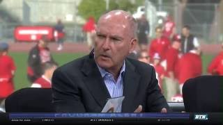 Jim Delany Joins BTN Tailgate in Nebraska 10-1-16