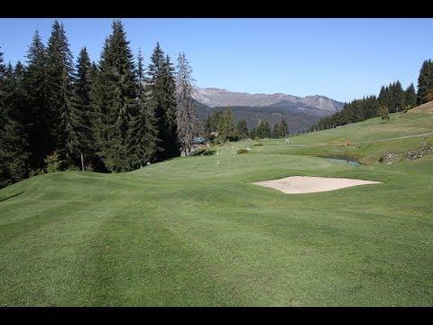 Trou n°18 - Golf Les Gets