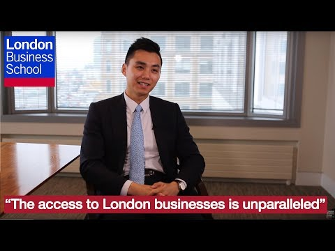 "MBA: ""The access to London businesses is unparalleled"" 