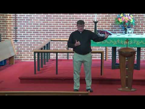 Pisgah Sunday Sermon 10/3/2021