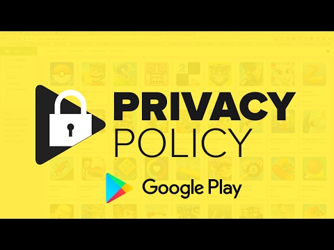 How to add Privacy Policy on Google Play | 2017