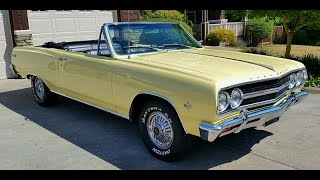 Super Sweet 1965 Malibu SS Convertible For Sale Final Version