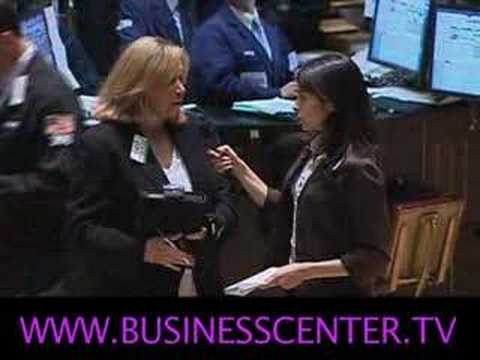 Interview on Floor of New York Stock Exchange