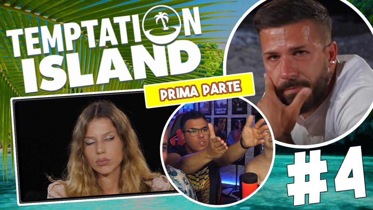 FALO' FINALE & SCHIZZIAMO MALE | Temptation Island 2021 *Reaction* | Episodio #4 [Parte 1]