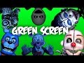 FNaF: Sister Location Jumpscares - Green Screen [60 FPS]