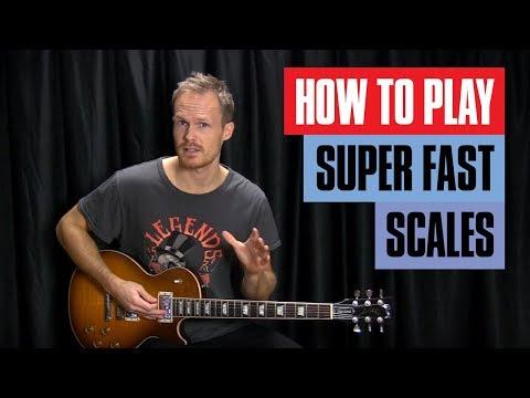 Crazy Speed Tricks - How to Play Fast Guitar Scales | Guitar Tricks