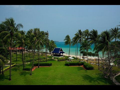 Drone tour of Centara Grand Beach Resort Samui
