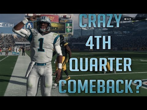 CRAZY 4TH QTR COME BACK - MADDEN 18 ONLINE RANKED MATCH #KEE