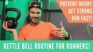 Kettle Bell Workout for Runners - Prevent Injury - Get Strong - Run Fast!