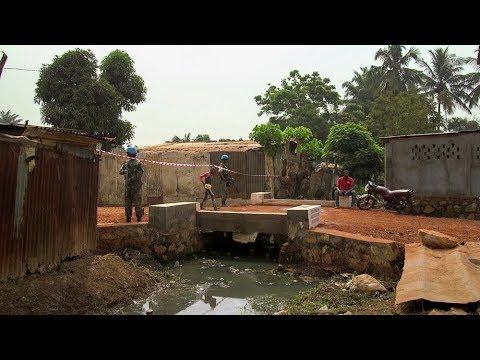 Désenclavement des quartiers de Bangui