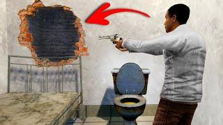 ESCAPING A SECRET PRISON ROOM! (Gmod Prop Hunt)