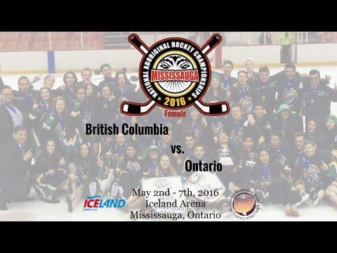2016 NAHC - British Columbia vs. Ontario (Female)