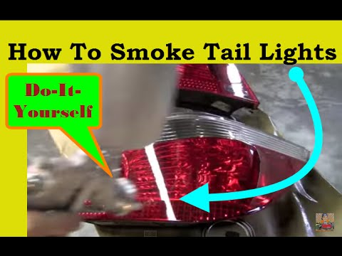 how to smoke tail lights yourself youtube. Black Bedroom Furniture Sets. Home Design Ideas