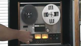 How To Load Tape Onto A Reel To Reel Deck