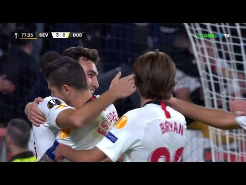 Σεβίλλη- Ντουντελάνζ(3-0) Highlights - UEFA Europa League - 24/10/2019 | COSMOTE SPORT