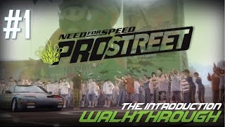 Need for Speed: ProStreet (PC) | Walkthrough Part #1 - The Introduction [HD 60FPS]