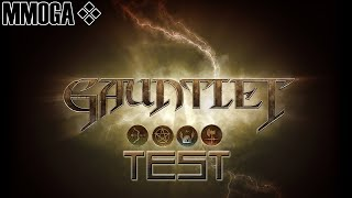 Gauntlet (2014) MMOGA Gameplay Test (German Review)