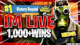 NEW* SKINS COMING SOON! TOP PS4 SOLO PLAYER! | 970+ SOLO WINS | Fortnite Battle Royale LIVE