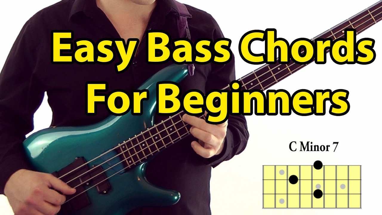 Easy Bass Guitar Chords for Beginners - YouTube