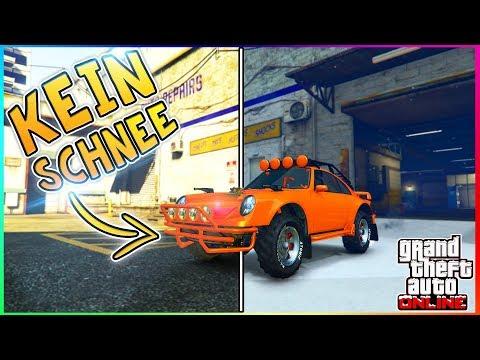 DEN SCHNEE AUS GTA 5 ONLINE ENTFERNEN!  GTA 5 Schnee wegbekommen!