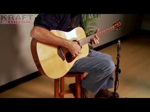 Kraft Music - Yamaha FG700S Acoustic Guitar Performance with Jake Blake
