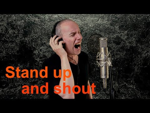 Dio - Stand up and shout (vocal cover)