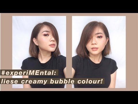 Liese Hair Colour - Milk Tea Brown | DIY HAIR DYE | CAT RAMBUT SENDIRI | Zizliine