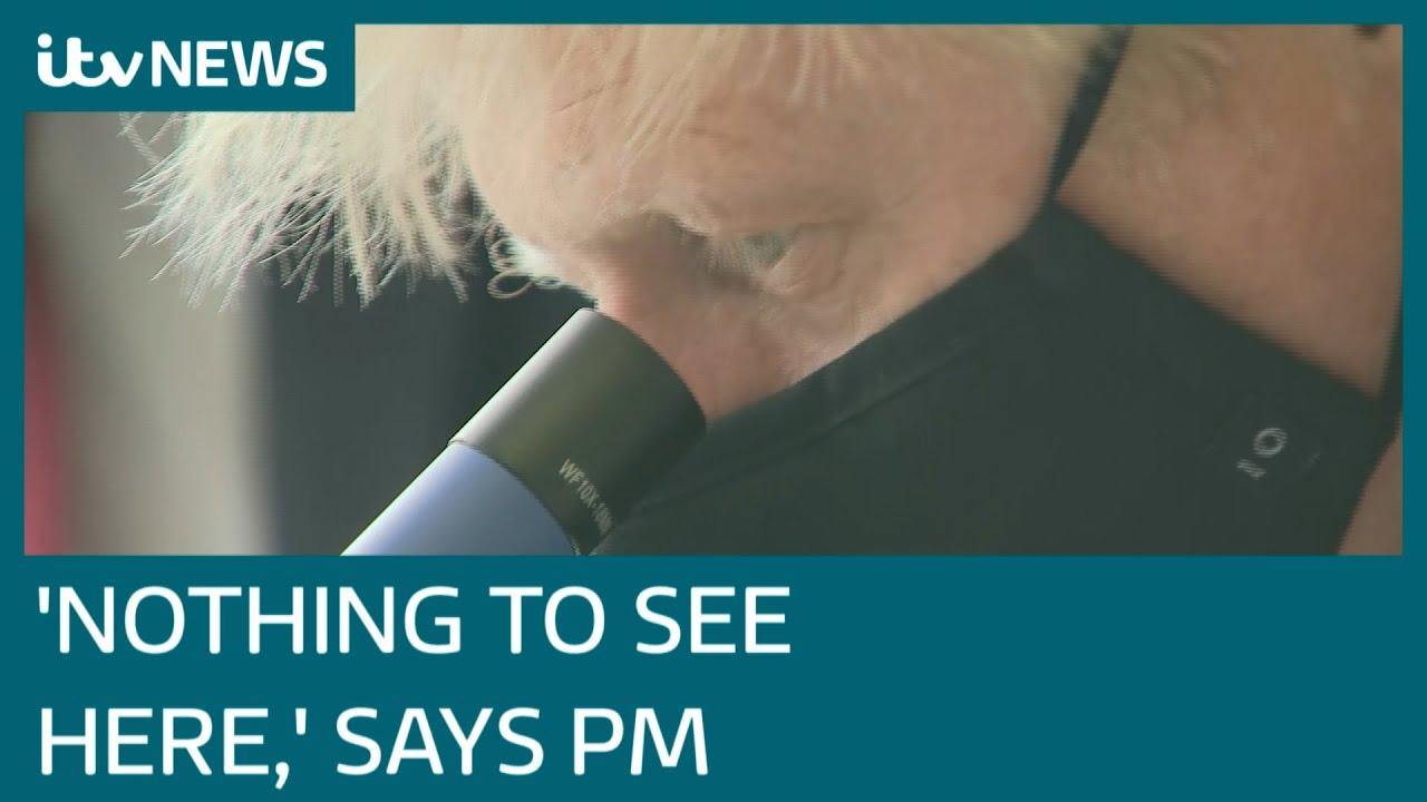 Download Boris Johnson plays down probe on Downing Street flat renovation payments | ITV News