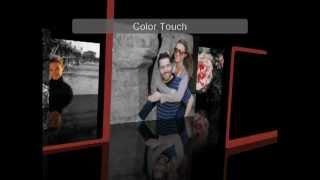 Color Touch Diaporama créé avec Nero MediaHome