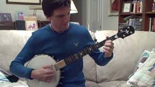 Adam Hurt playing Kevin Enoch's new Dobson Model banjo