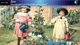 Как ухаживать за домашними растениями?(Все мы знаем, что комнатные цветы не только делают интерьер нашего дома красивым и уютным, но и являются..., 2010-12-10T10:07:36.000Z)