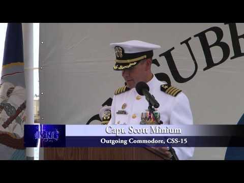 Commander, Submarine Squadron 15 Change Of Command Ceremony