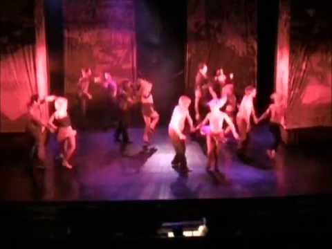 Derek Hough in Footloose the Musical - 'Footloose' (opening)
