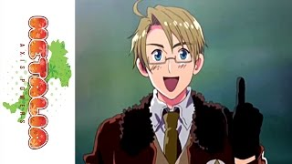 Hetalia: Axis Powers on DVD 9/14/10 - America - Anime Episode Clip