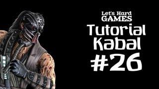 Mortal Kombat 9: Komplete Edition #26 Обучение Kabal [Tutorial][Fatality][PC]